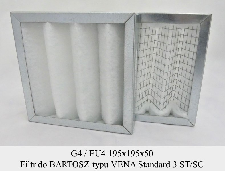Filtr G4 do BARTOSZ VENA Standard (195x195x50)