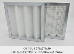 Filtry G4 do BARTOSZ VENA Standard (275x275x50)