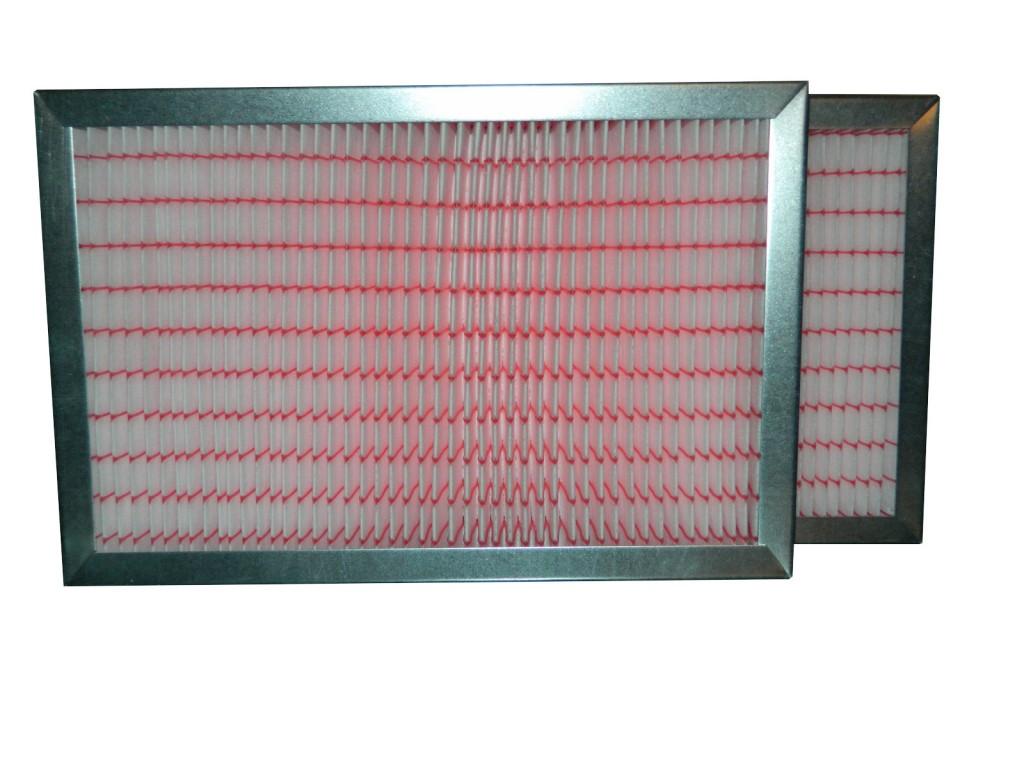 Filtry EU7 do BRINK RENOVENT EXCELLENT (525x185x25) ramka metalowa