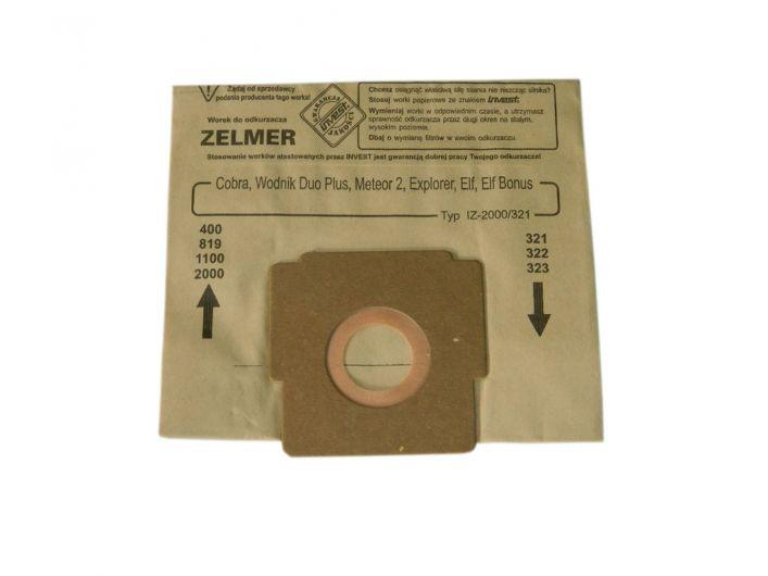 Worki do odkurzacza ZELMER AQUOS ELF ODYSSEY 2000/321